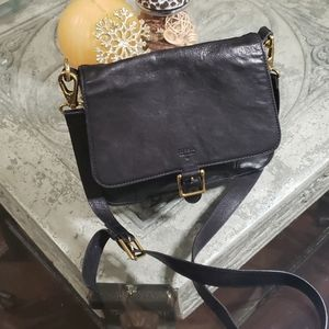 ⭐FOSSIL LEATHER CROSS BODY BAG